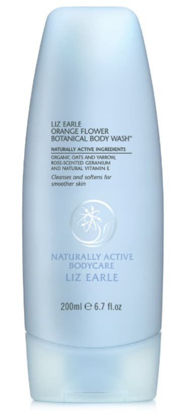 Orange Flower Botanical Body Wash di Liz Earle - FOTO