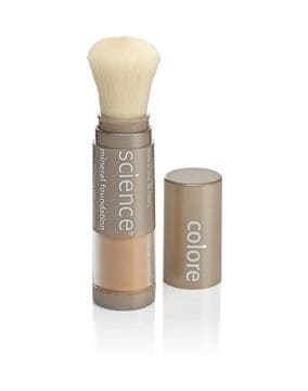 COLORESCIENCE - Loose Mineral Foundation Brush SPF 20 HD
