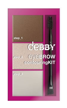 deBBY Eyebrow Contour KIT 01