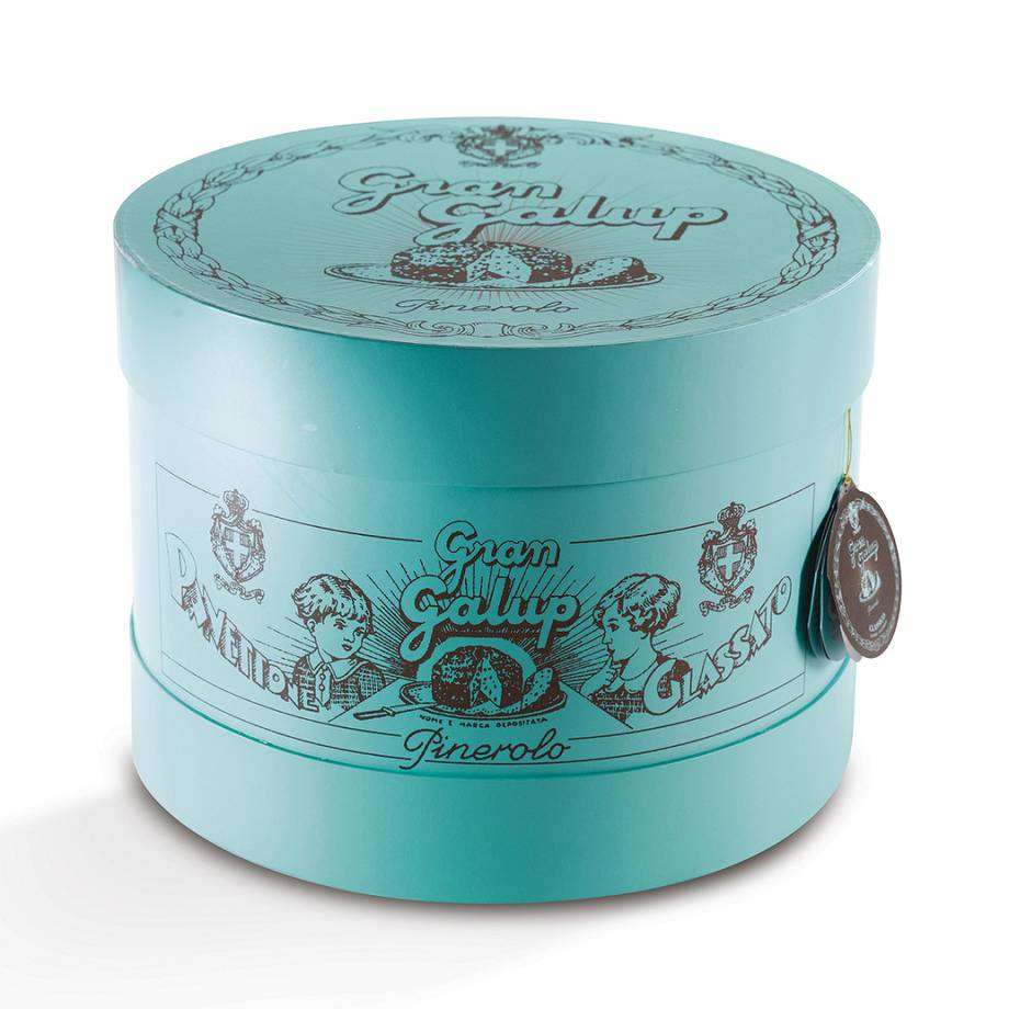 Panettoni Natale 2017  | Cappelliera Turquoise Edition Galup | FOTO