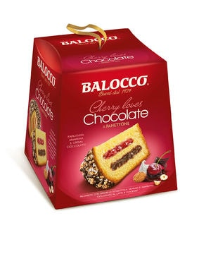 Panettone Cherry loves Chocolate Balocco