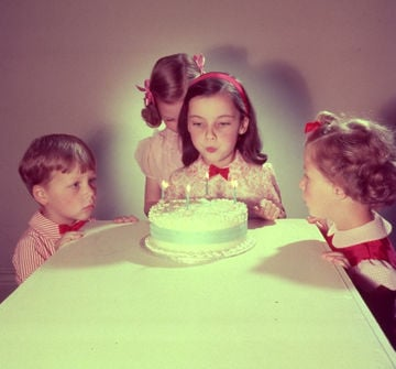 Compleanno bambini vintage