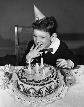Compleanno vintage bambini