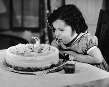 Torta compleanno Shirley Temple