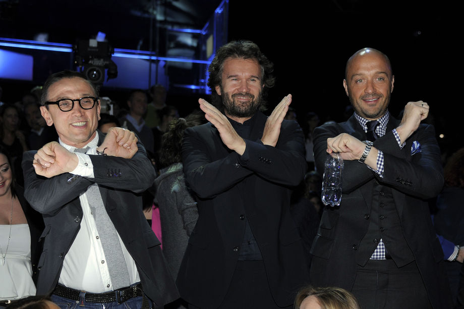 Bruno Barbieri, Carlo Cracco e Joe Bastianich a X Factor
