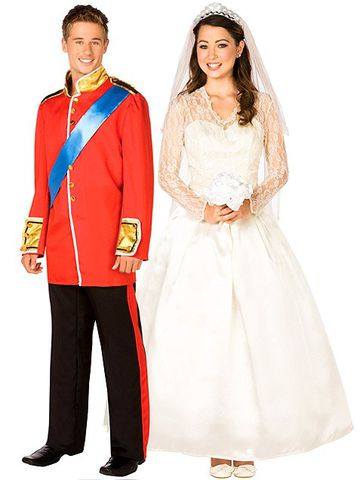 Costumi Principe William e Kate Middleton