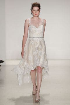 Abito sottoveste in pizzo Alfred Angelo