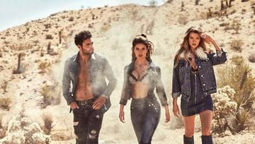 Campagna Guess Jeans AI 2019