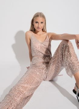 Tally Weijl XMas Online Exclusive jumpsuit oro