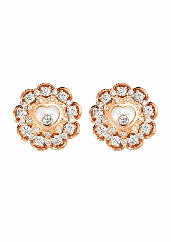 Come vestirsi a Capodanno, idee outfit | Happy Diamonds earrings - Chopard | FOTO