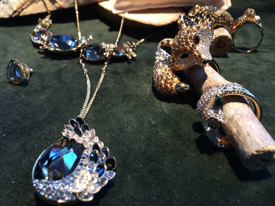 Crystal Tales anello volpe