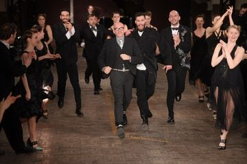 Antonio Marras in passerella