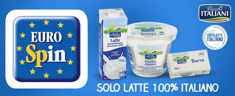 Pascoli italiani eurospin for Yogurt greco land