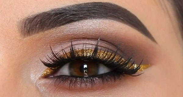 Trucco oro per le feste | Video tutorial