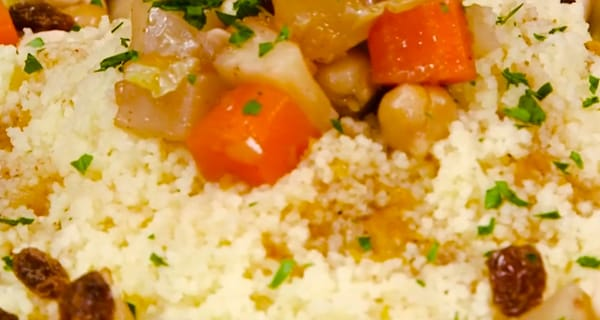 Cous cous vegetariano | Video ricetta
