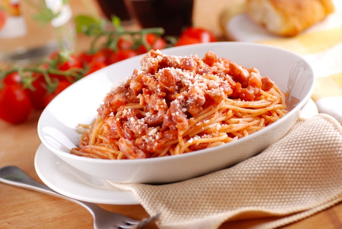 piatto di amatriciana