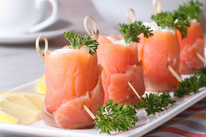 finger food di pesce