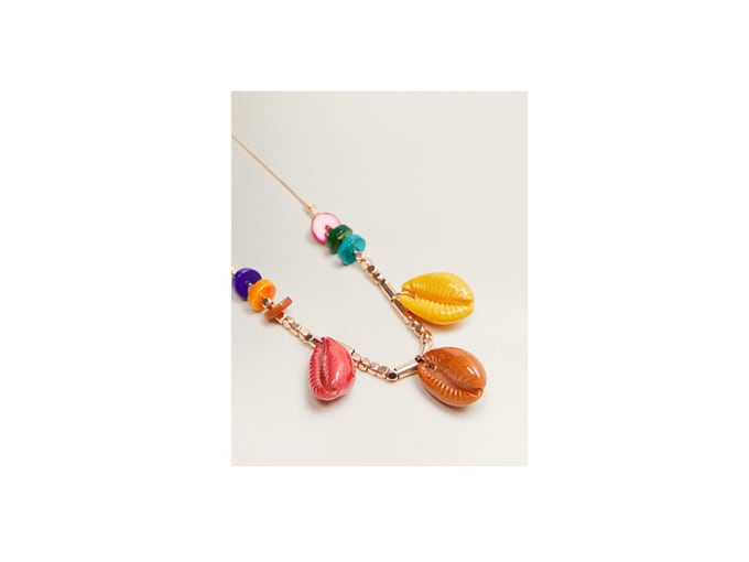 Collana Mango con conchiglie colorate